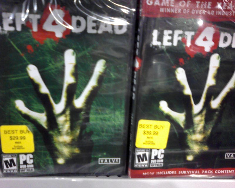 left 4 dead 2 game of the year